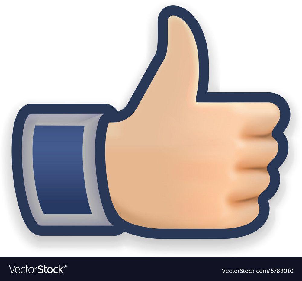 Like Icon Emoji Thumb Up Symbol Royalty Free Vector Image Icon Emoji Vector Free Like Icon