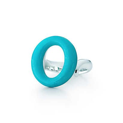 17933af7b Elsa Peretti® Sevillana™ Ring in sterling silver with turquoise. | Tiffany  & Co.
