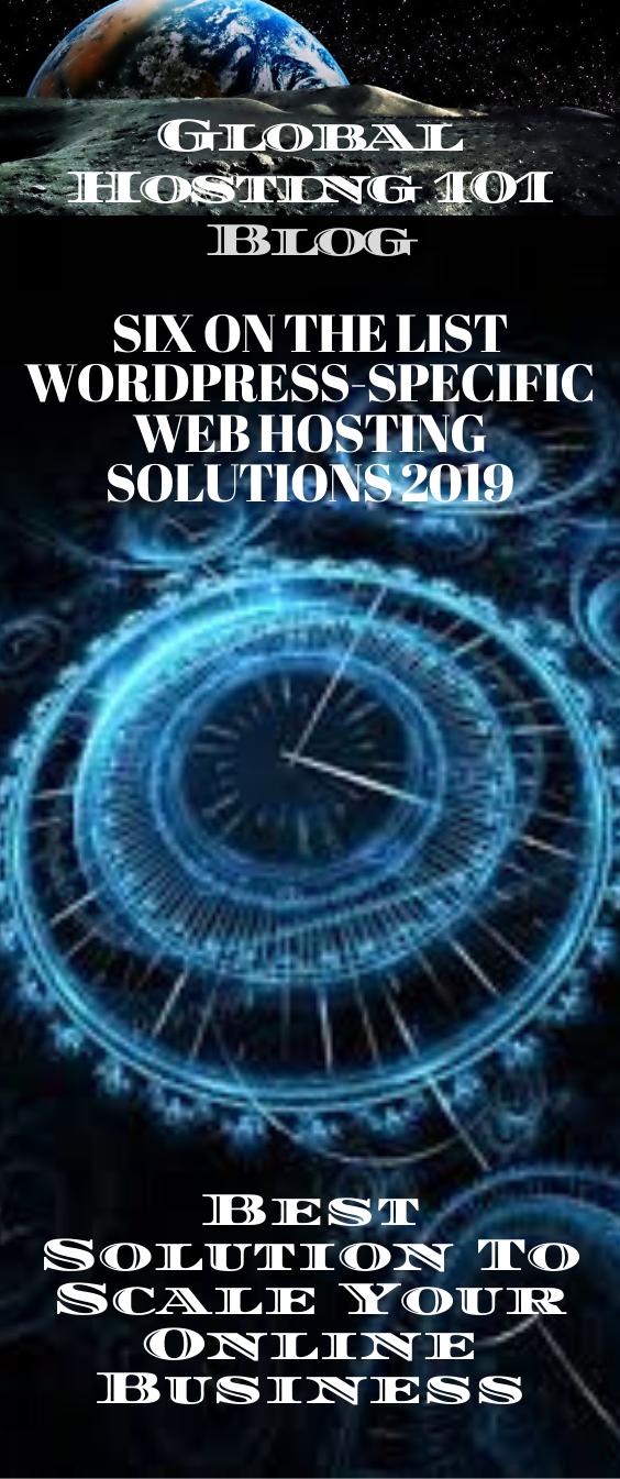 Number Six On The List Wordpress Specific Web Hosting Solutions 2020 Web Hosting Solutions Educational Websites