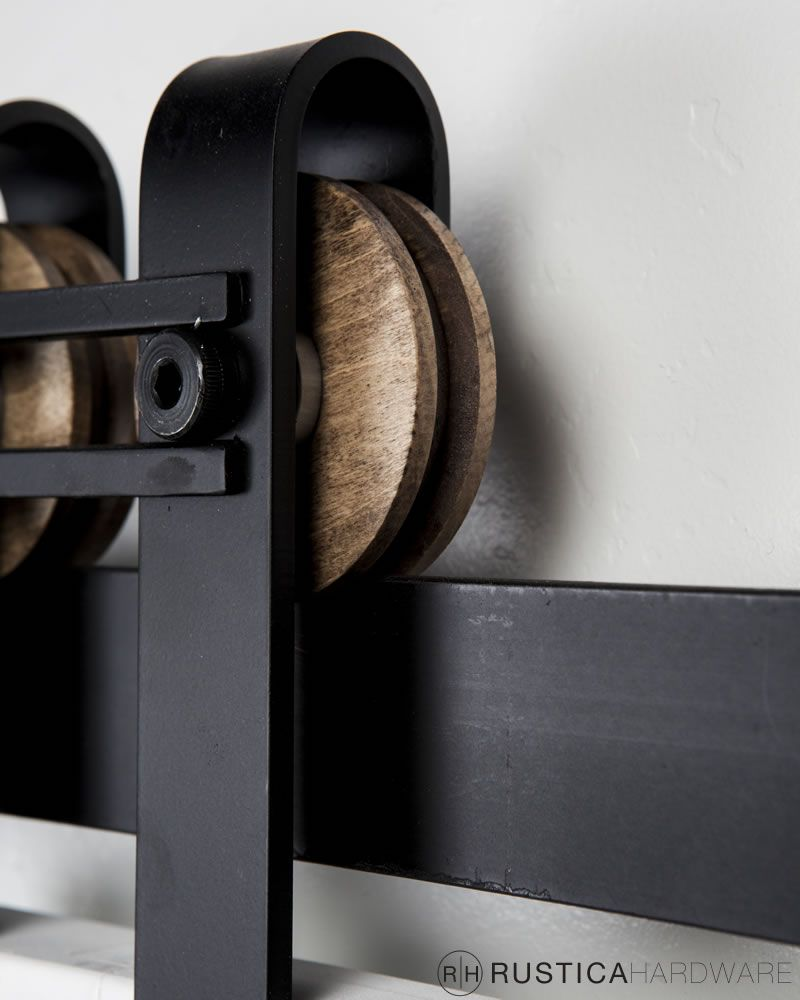 Barn Door Hardware Sliding Horseshoe With Bar Barn Door Rollers By