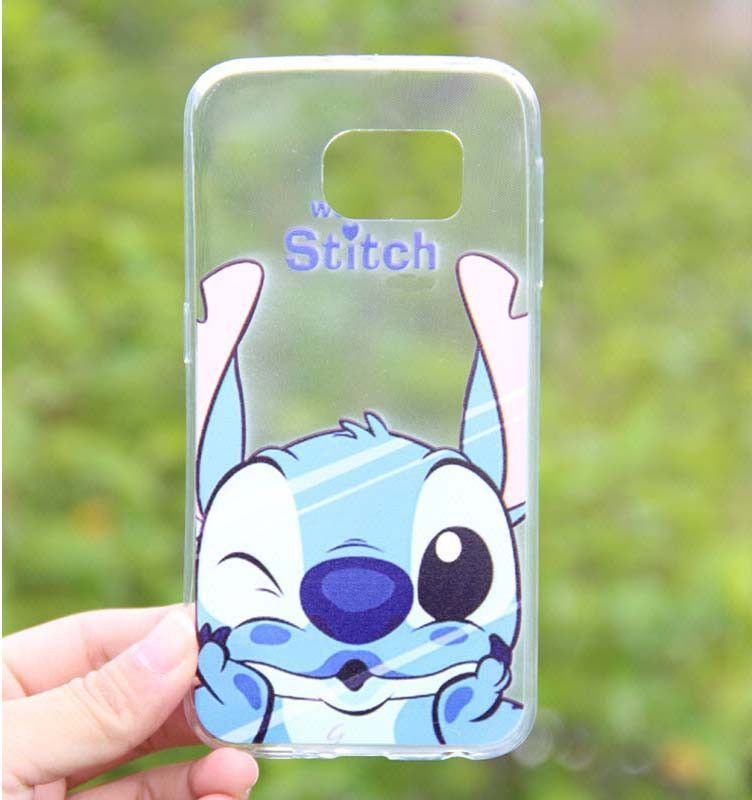 Funny Cartoon Soft TPU Case for samsung galaxy s6 S6 edge or S7 S7 ...