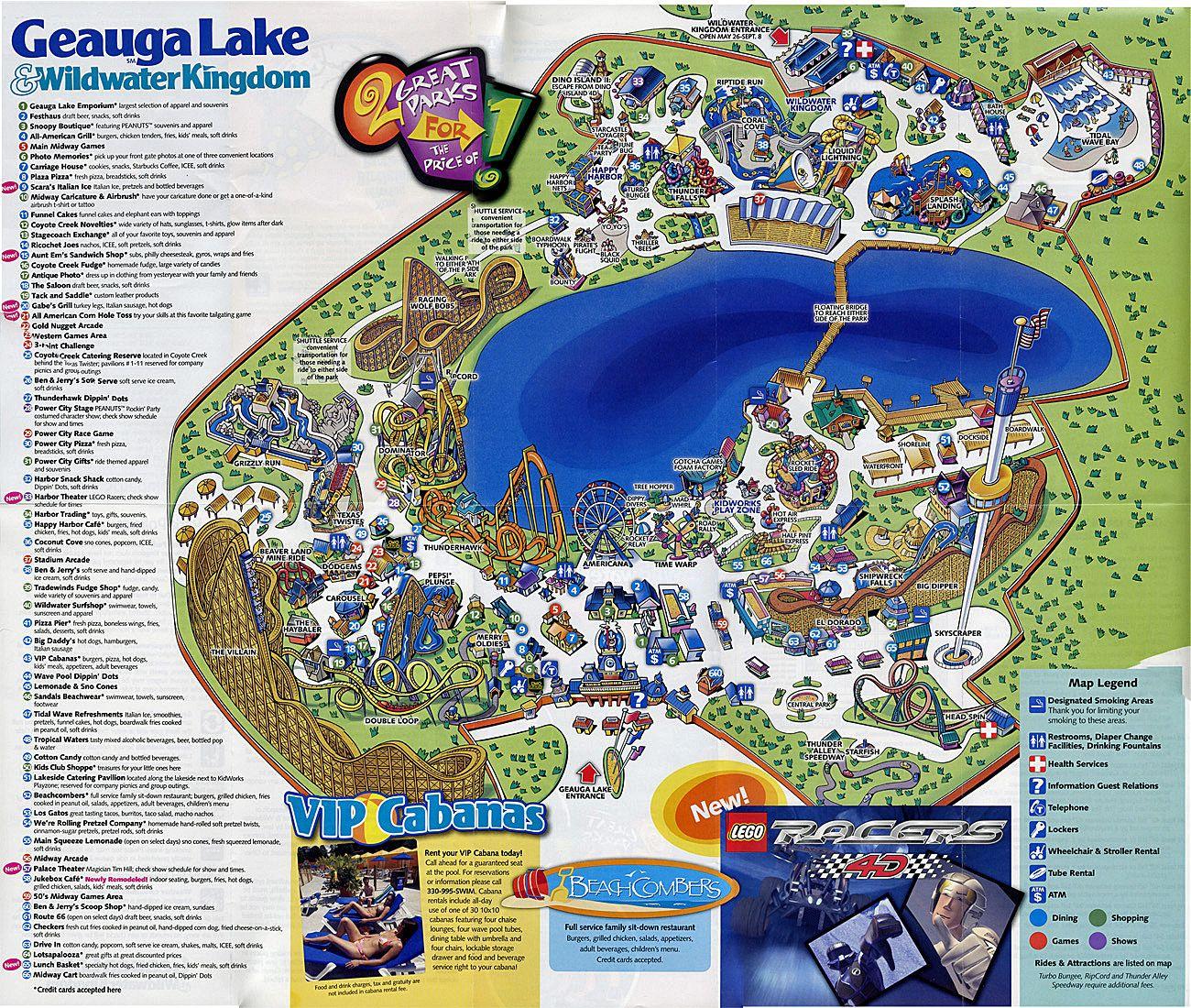 GL Map 2007.jpg 1,300×1,100 Pixels Wildwater Kingdom