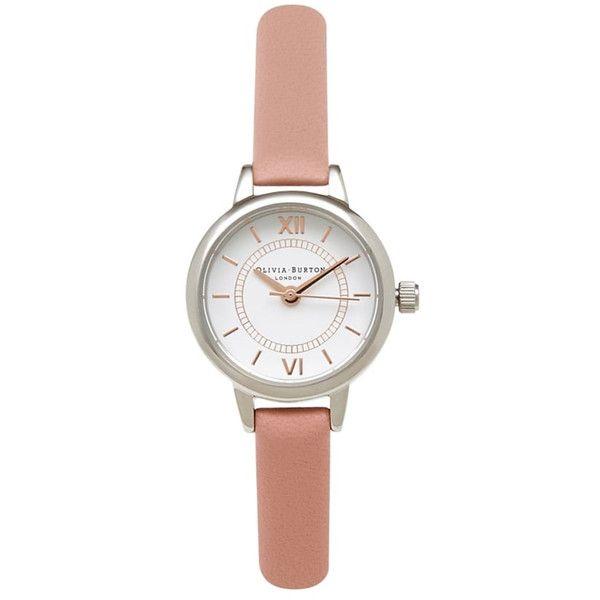 Olivia Burton Mini Wonderland Watch Dusty Pink Silver Gold 87