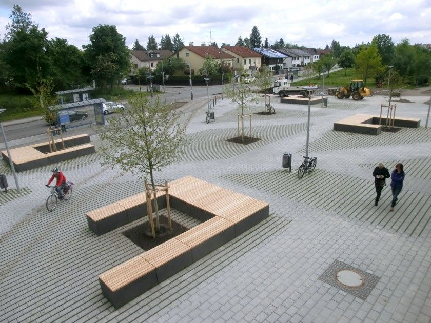Gymnasium Trudering / Lex Kerfers_Landschafstarchitekten ...