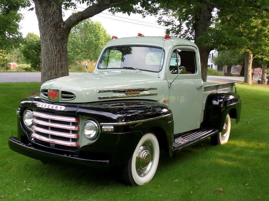 1949 Mercury Classic Cars Trucks Vintage Pickup Trucks Classic Chevy Trucks