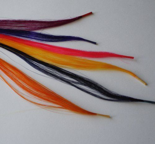"Hair Extensions 100% Human Hair 18"" 6 Pre-bonded Tips Silky Straight 6 Colors by Sexy Extensions For You Inc.. $18.00. use with the Micro link system or shrinkies method.. 6 Pre-Bonded Tips 100% Remy Human Hair Extensions 18"" Long Silky Straight 6 Colors. add a little fun to your look with these fun colored Hair extensions. Colored Hair Extensions are a great way to add fun to your look. These are pre-bonded tips, to apply them you will need a micro links needle tool an..."