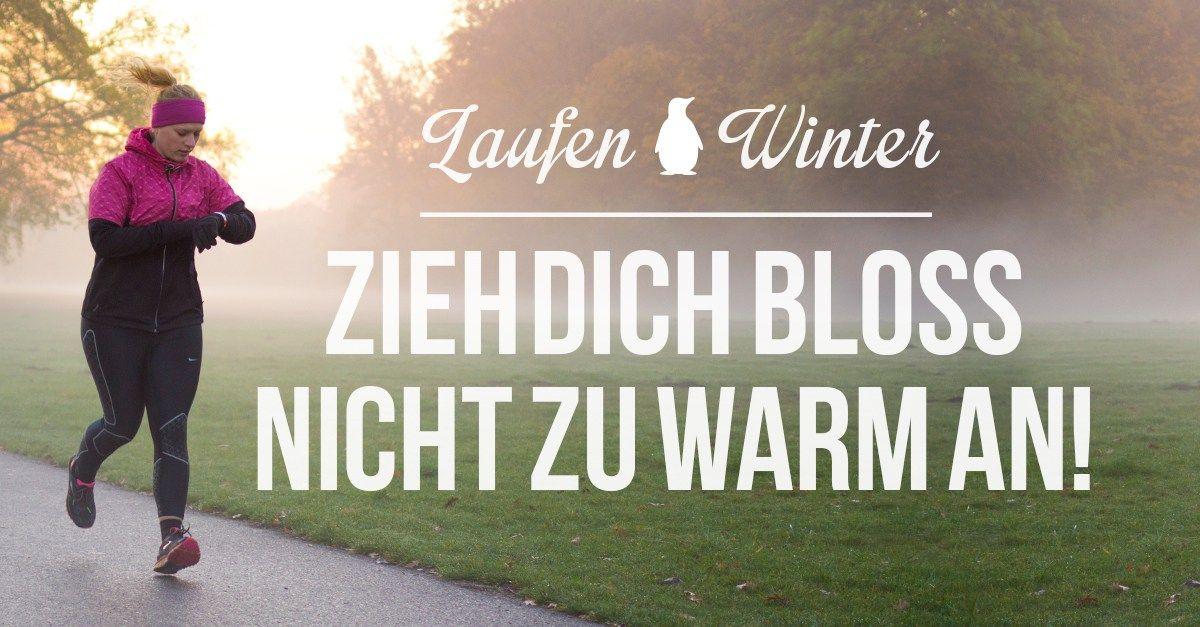 Laufbekleidung im Winter – So sieht das richtige Laufoutfit
