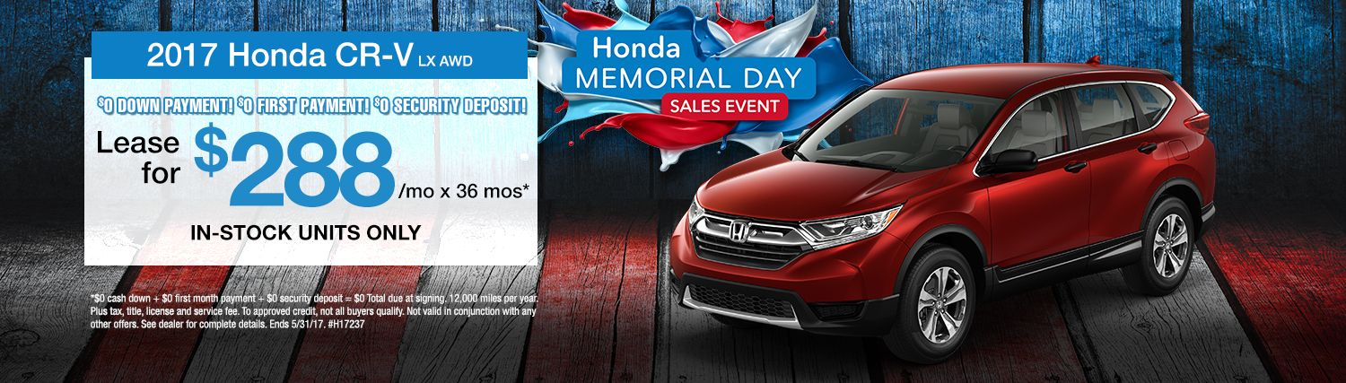 Russ Darrow Honda >> Lease A Cr V For Only 288 A Month At Russ Darrow Honda
