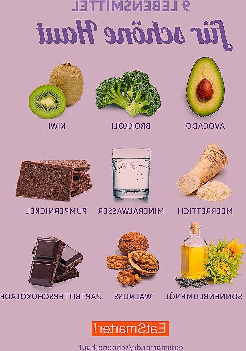 Lebensmittel für schöne Haut