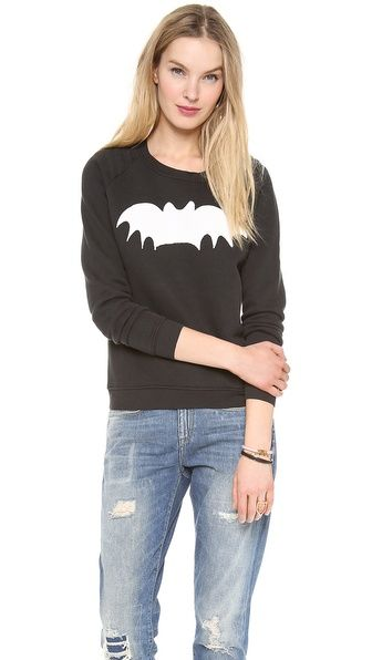 Zoe Karssen Bat Loose Fit Sweatshirt $126