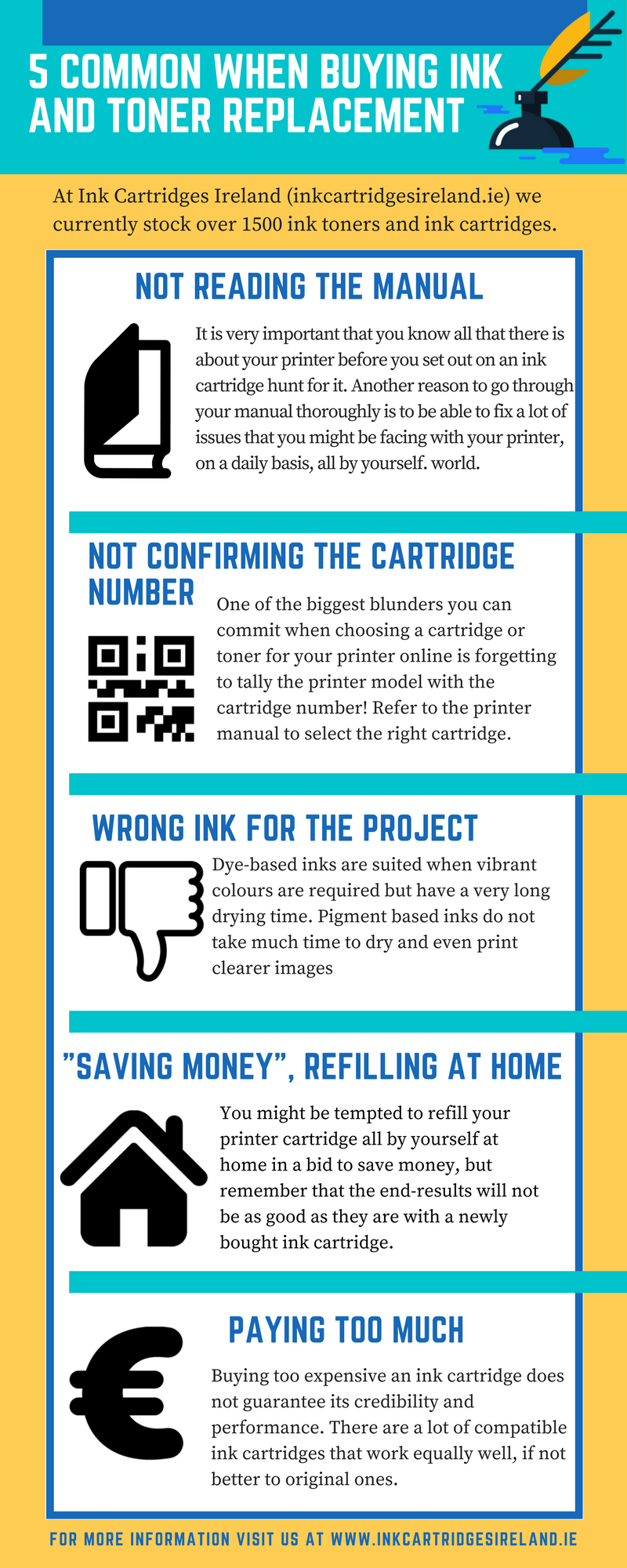 Things to Consider for Ink & Toner Replacement in Ireland  http://inkcartridgesireland.