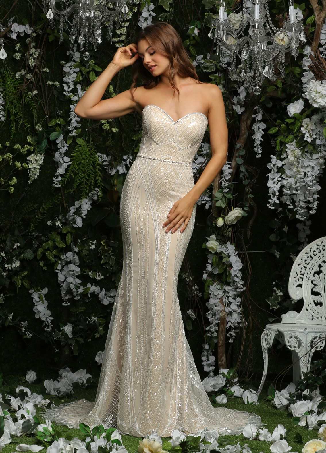 Style: 10477 | Ashley & Justin Bride Stunning sweetheart strapless ...