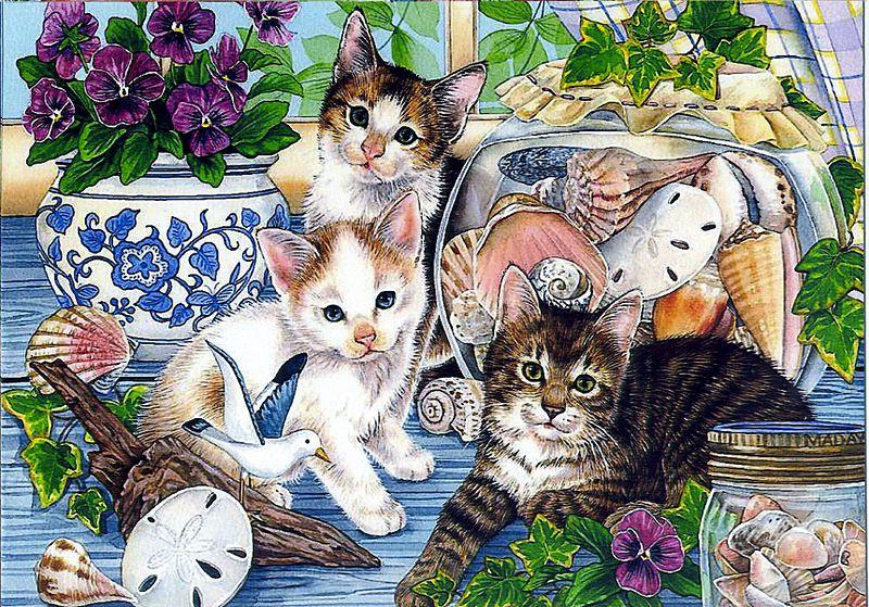 Картинки с кошками котами