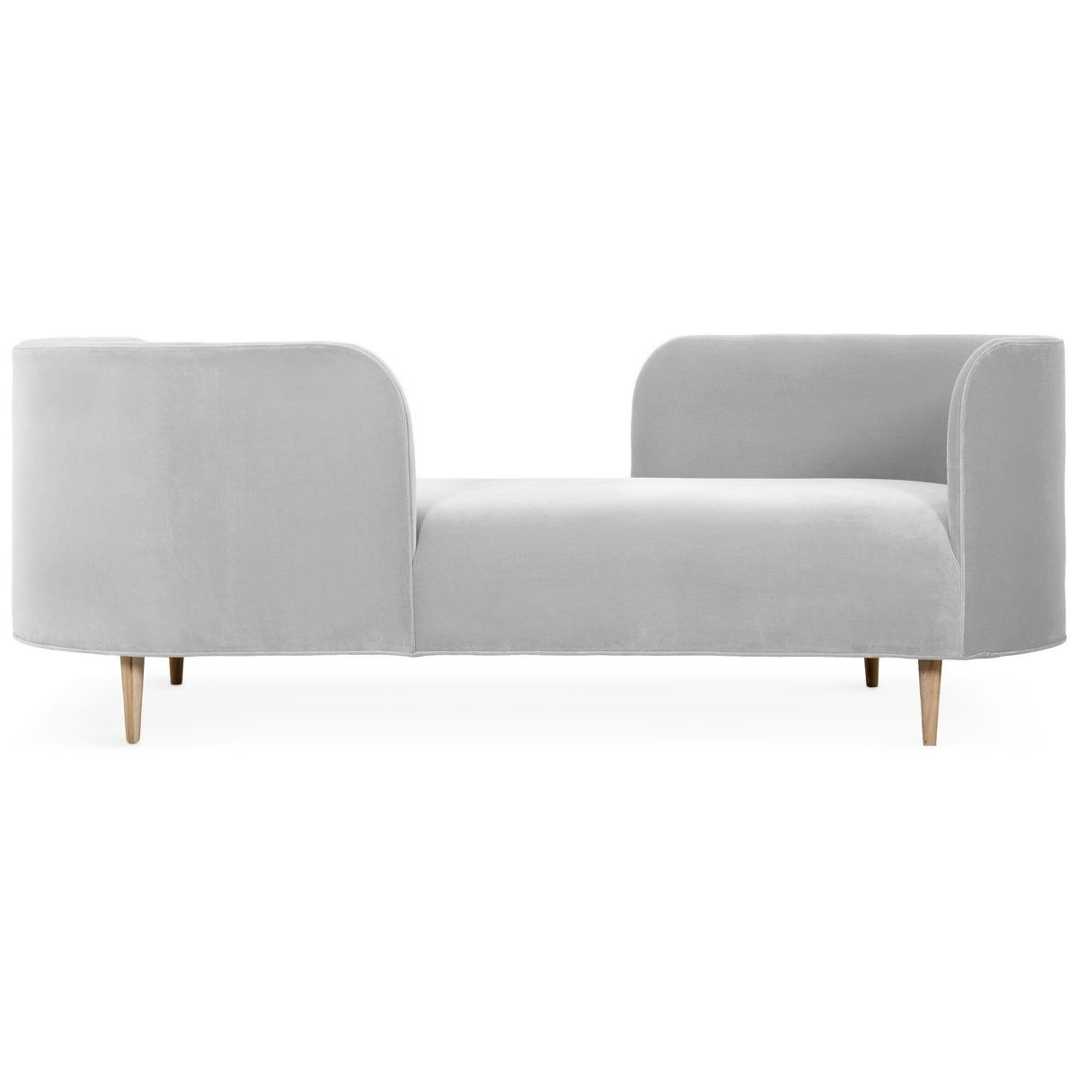 Oslo Chaise In Velvet In 2020 Sleeper Sofa Contemporary Sleeper Sofas Chaise