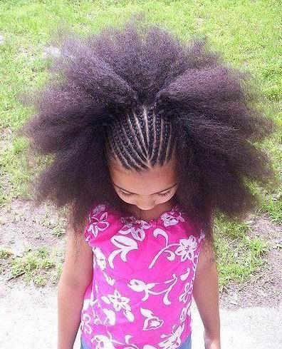 Braids an Then hair down