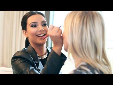 THE LOOK: Kim Kardashian Plays with Makeup