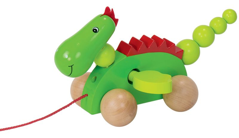 goki wooden toys for kids pull along dragon dinosaurs dragons pinterest wooden toys and toy. Black Bedroom Furniture Sets. Home Design Ideas