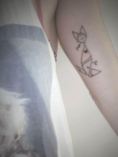tattoo cat tangram - Cerca con Google