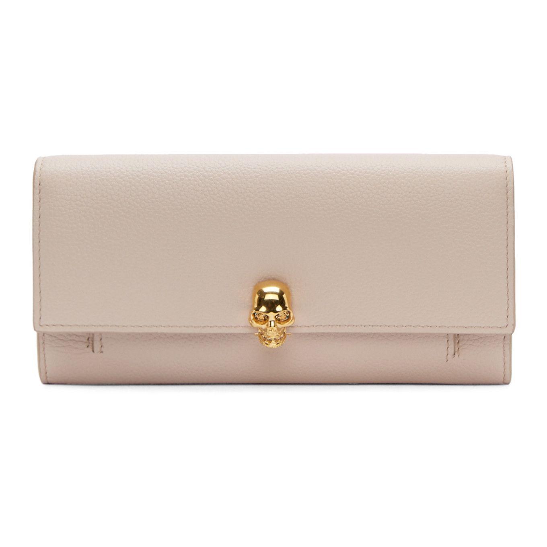 2676913e38 Alexander McQueen - Pink Skull Wallet Chain Bag