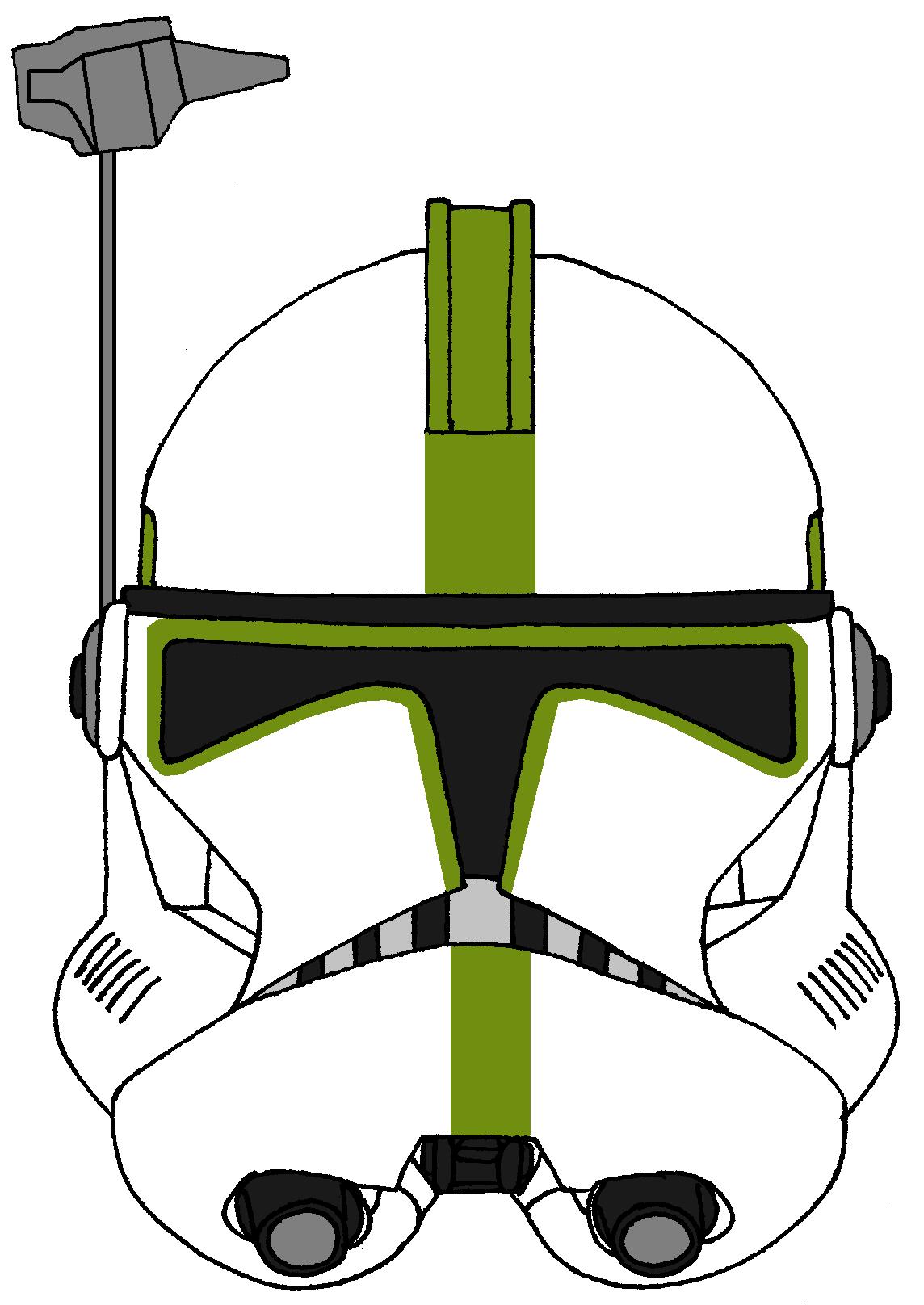 Clone Arc Trooper Sergeant S Helmet 2 Star Wars Helmet Star Wars Clone Wars Star Wars Trooper