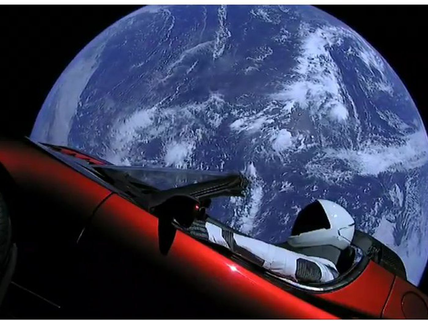 Watch: SpaceX launched a Tesla Roadster into space ...