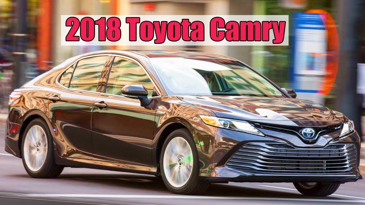 2018 Toyota Camry Begins Production Toyota camry, Toyota