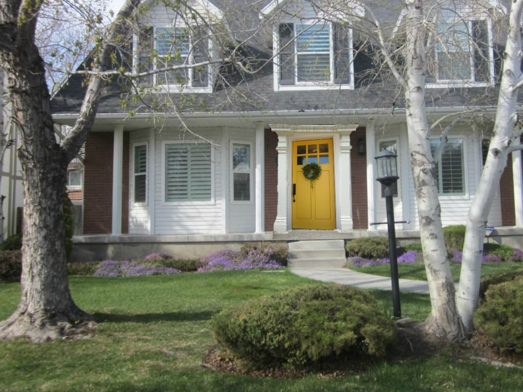 yellow front door images - google search   farmhouse   pinterest