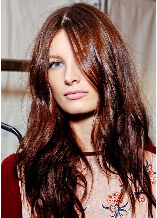 Coloration cheveux couleur roux