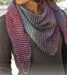 Photo of gkkreativ: Den dreieckigen Schal stricken