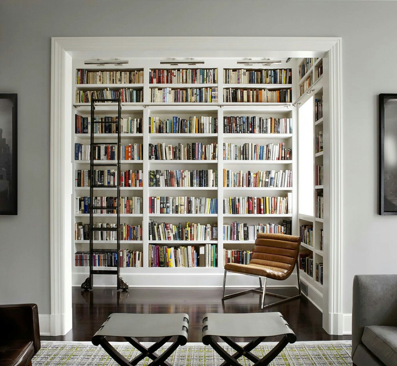 maybe sliding barn doors for a more secluded reading nookoffice