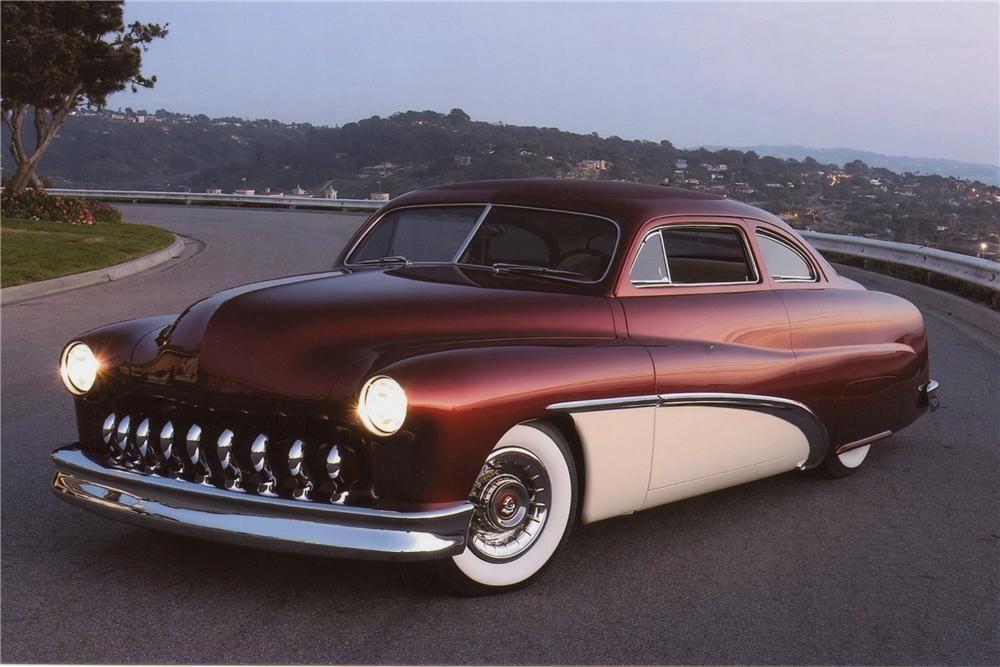 1951 Mercury Custom 2 Door Barrett Jackson Auction Company Cruiser Car Classic Cars American Classic Cars