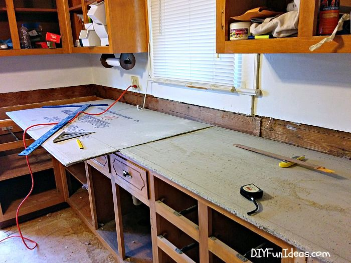 Best How To Make Diy Cast In Place White Concrete Countertops 640 x 480