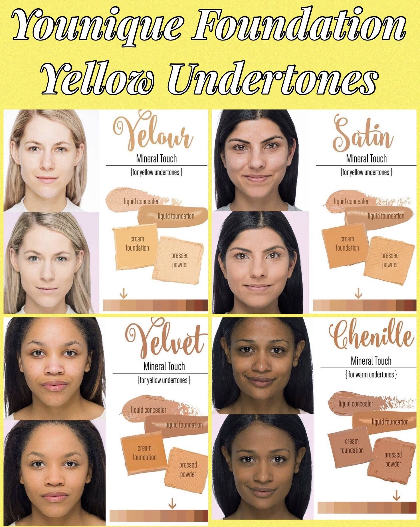 yellow undertone foundation