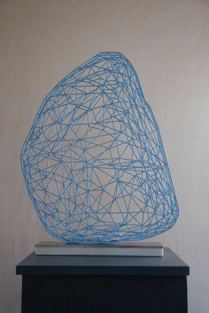 Sculpture_Saima Kivi_Duck egg blue Ekkenhard Altenburger