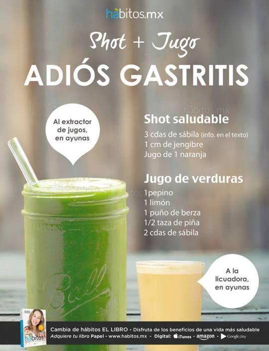 Recetas de comida saludable para la gastritis