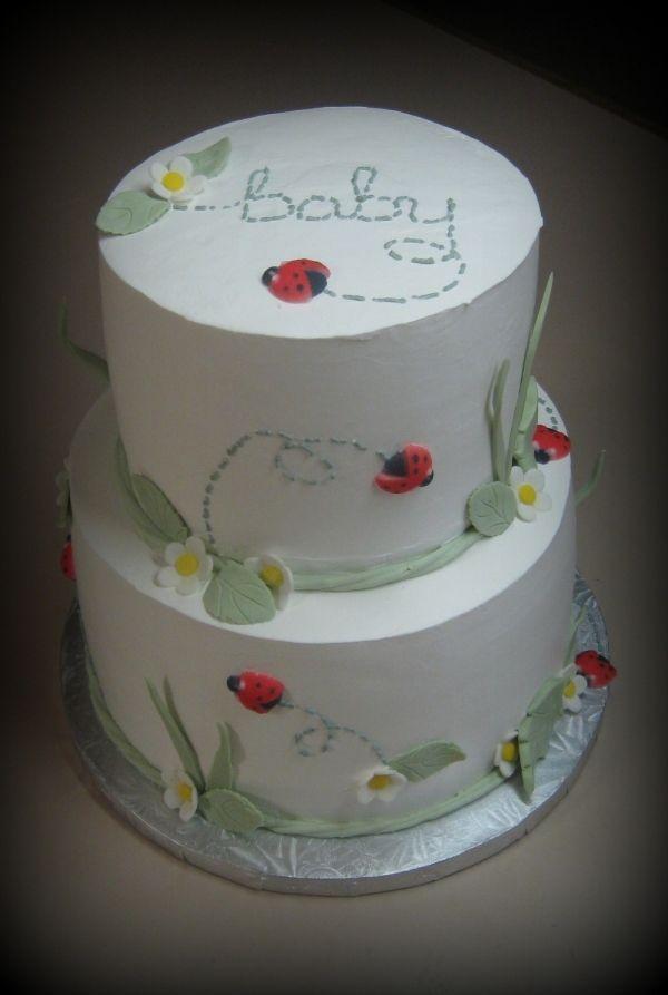 ladybug baby shower  cakes and cupcake ideas, Baby shower invitation