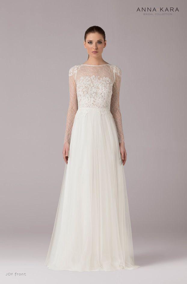 Brautkleider von Anna Kara - Model Joy | Käj | Pinterest | Anna ...