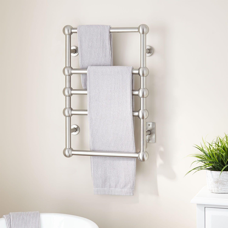 20 Lausanne Hardwired Towel Warmer Towel Warmers Bathroom Towel Warmer Towel Mounted Towel Warmer