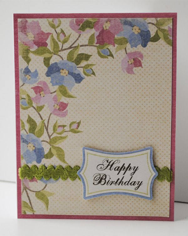 Hybrid happiness card class day 2 paper garden projects learn to cards m4hsunfo