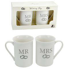 015340000000 Widdop Bingham Mr. & Mrs. Mugs CM179 Peter Jones
