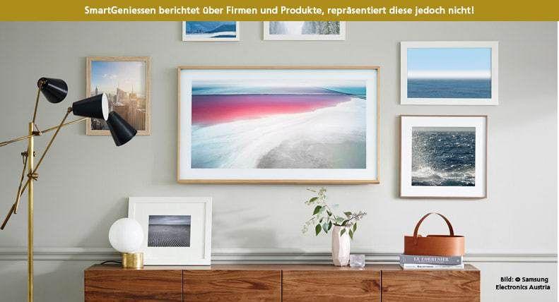 Samsung The Frame- Mattscheibe adé. Wenn TV-Geräte zu Kunst(Objekten ...