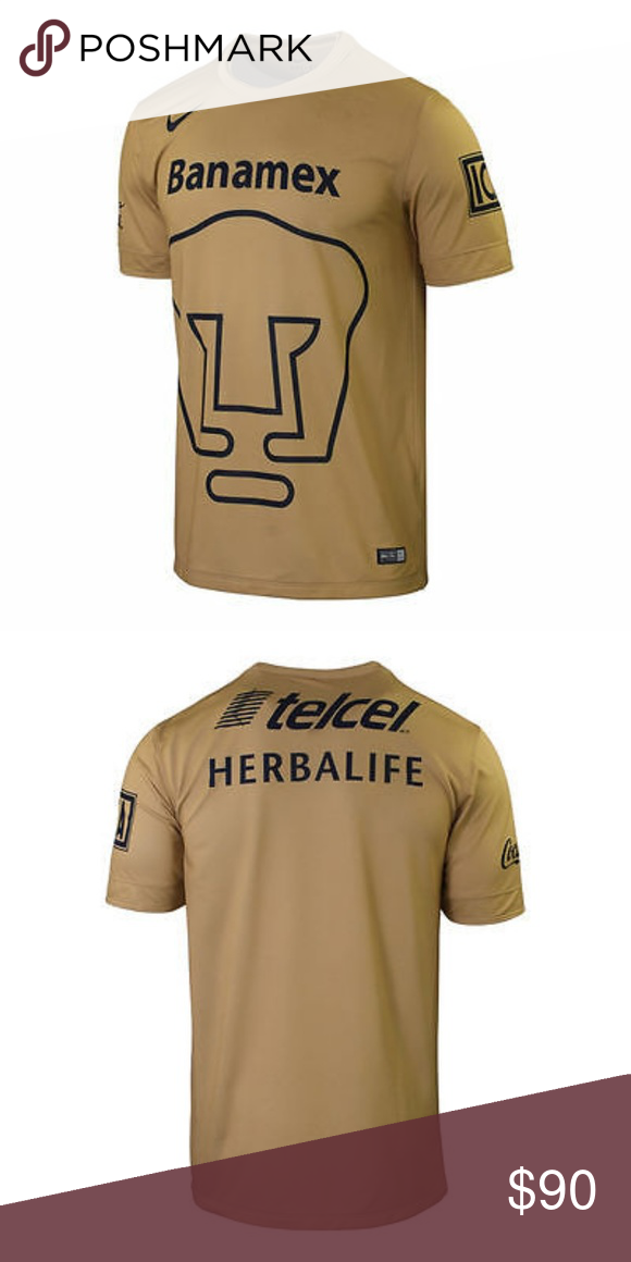 purchase cheap 8b481 ce995 New NIKE PUMAS UNAM HOME JERSEY 2014/15 this is an Authentic ...