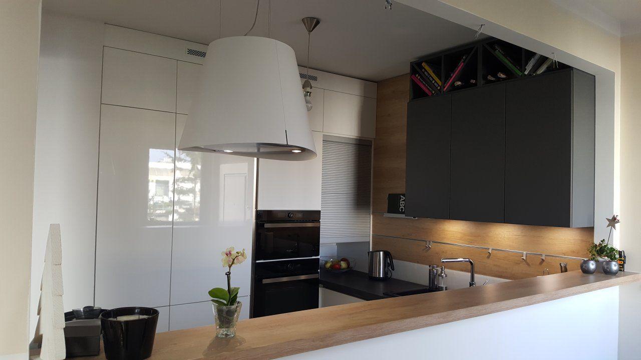 Kuchnia Wfm Calma Bialy Polysk P101 Kitchen Design Home Decor Furniture