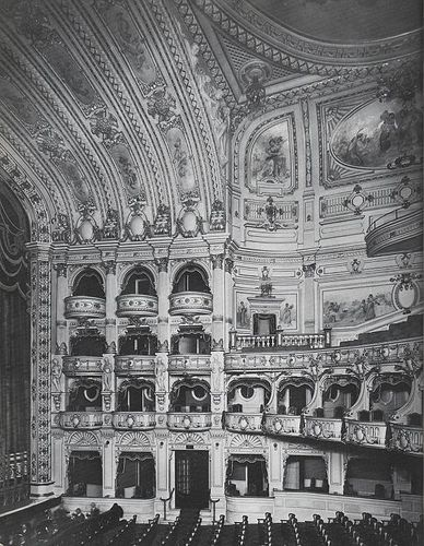 Interior Of The Stoll Theatre Kingsway Demolished In 1957 For A Bland Office Building Theatre Interior London Architecture Architecture Old