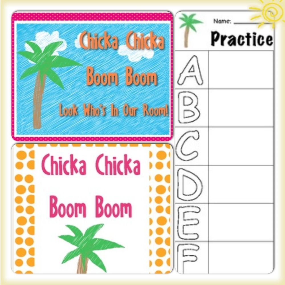 Chicka Chicka ABC 123: Letter & Number Practice | Abc ... - photo#22