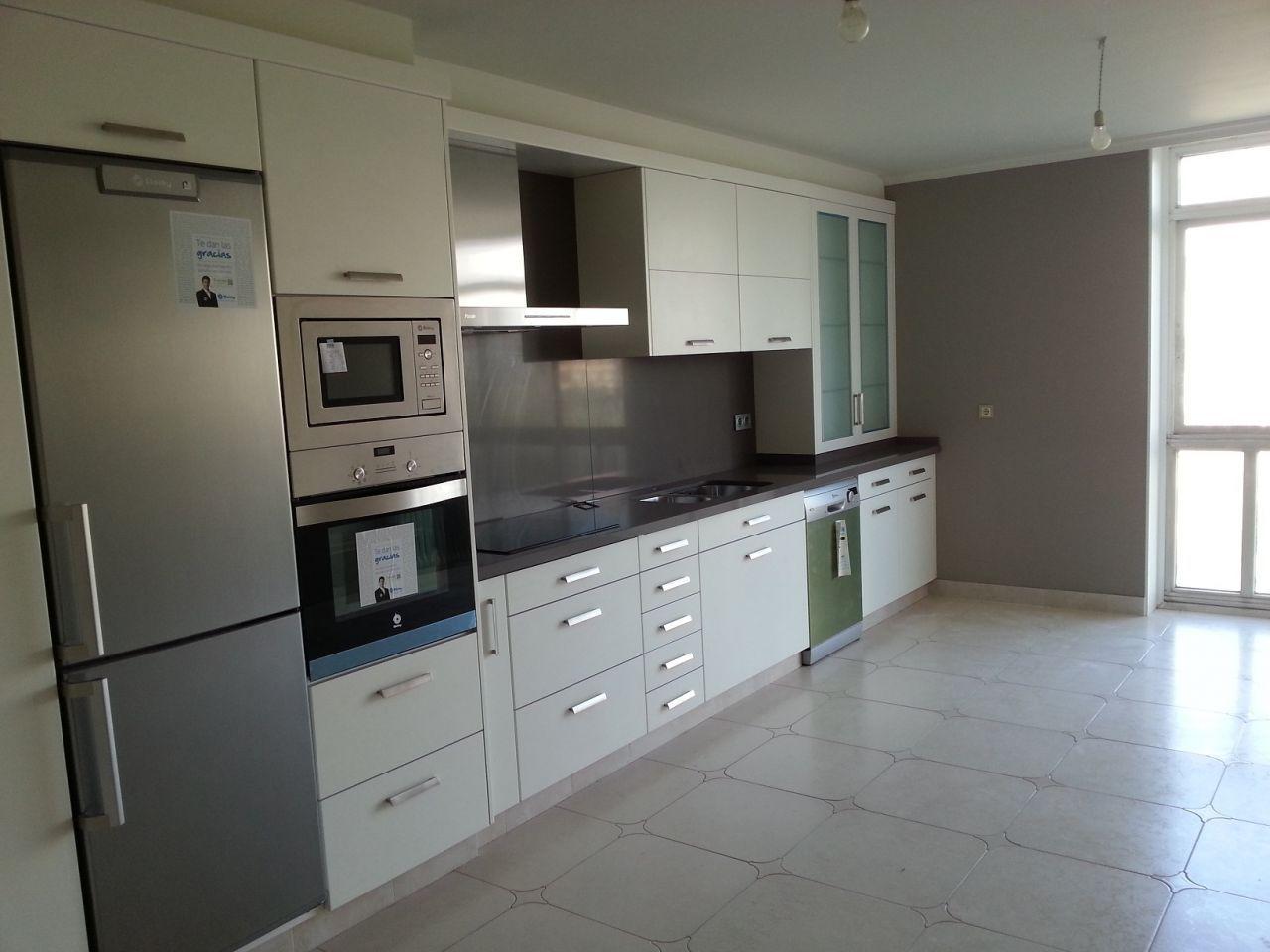 Cambiar muebles de cocina muebles cocina blanco cocinas - Muebles cocina blanco ...