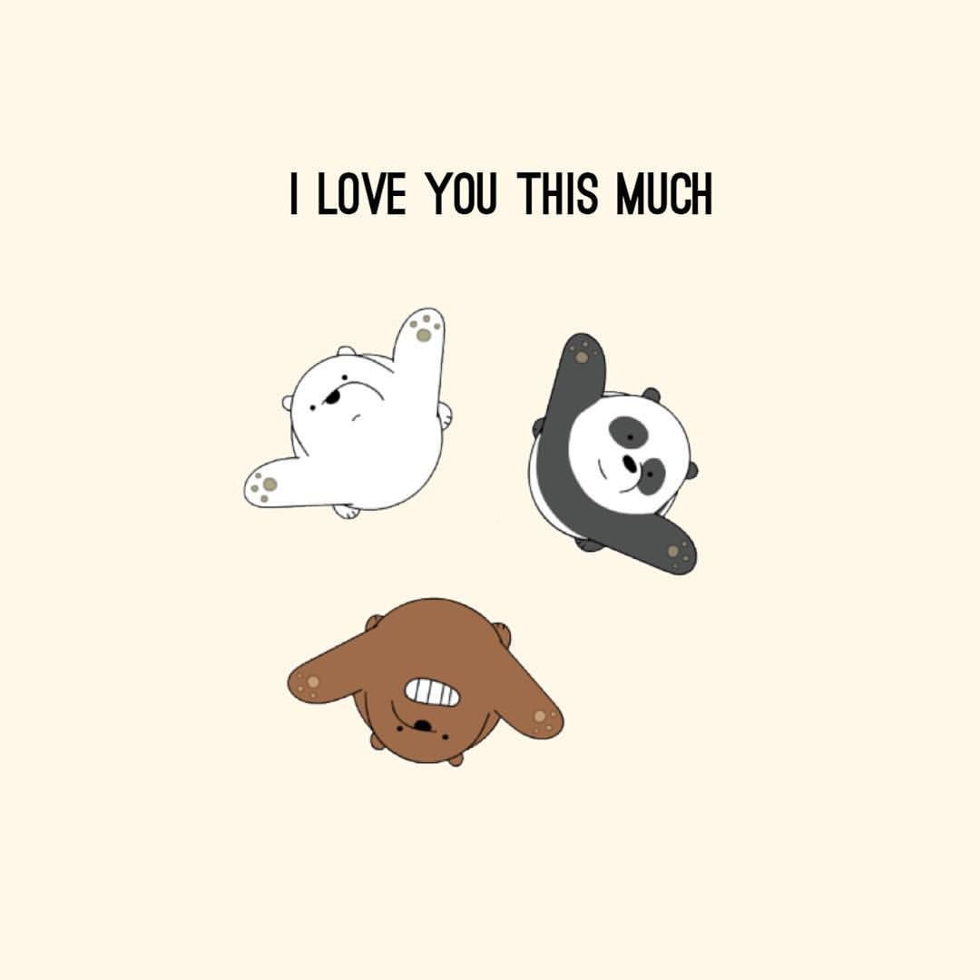 Pin Oleh Banana Di Bears Kartun Wallpaper Lucu Beruang Panda