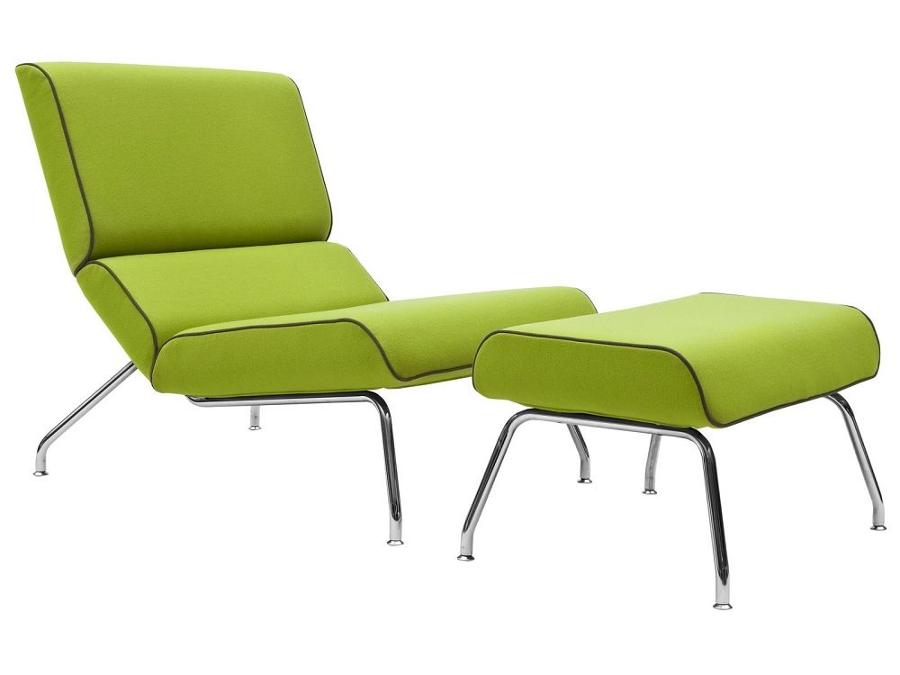 Simple Green Accent Chair Interior