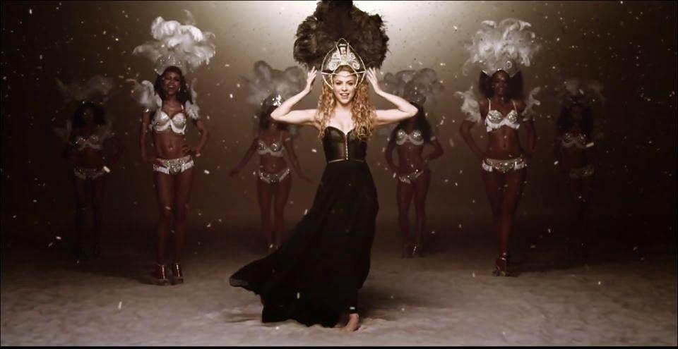 New Video Shakira Ft Carlinhos Brown La La La Brazil 2014 World Cup Song Shakira Her World