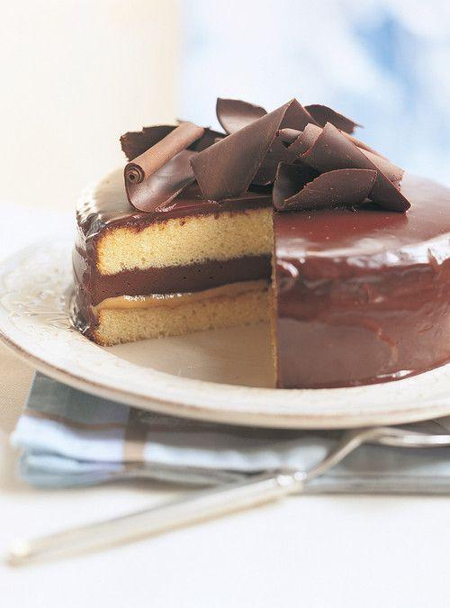 Ganache vanille pour gateau chocolat